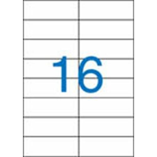 Etikett, univerzális, 105x37 mm, VICTORIA, 1600 etikett/csomag (LCV11371)