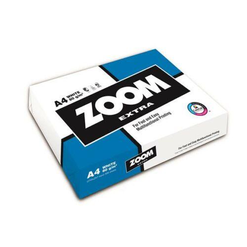 Másolópapír, A4, 80 g, ZOOM Extra (LSZE480)