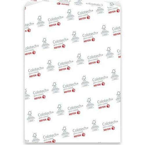 Másolópapír, digitális, A4, 140 g, 2 oldalon bevonatos, fényes, XEROX Colotech Gloss (LX90339)