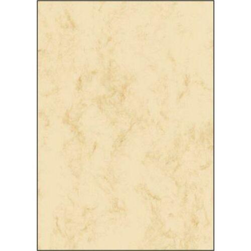 Előnyomott papír, A4, 90 g, SIGEL, bézs (SDP372)