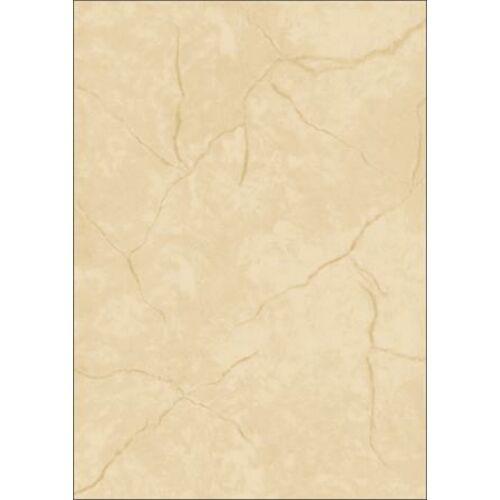 Előnyomott papír, kétoldalas, A4, 90 g, SIGEL, bézs, gránit (SDP638)