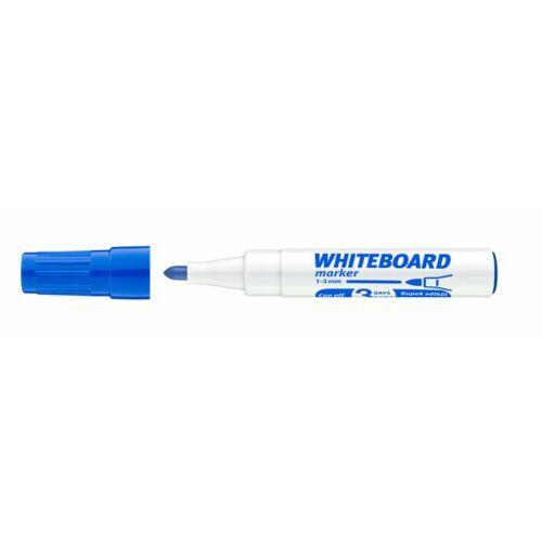 Tábla- és flipchart marker, 1-3 mm, kúpos, ICO Plan, kék (TICPLK)