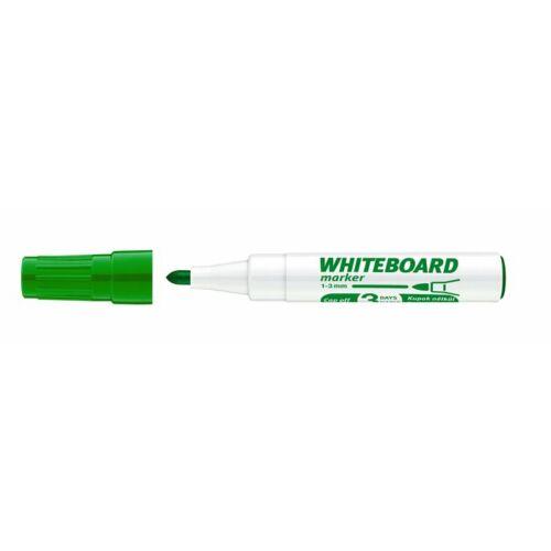 Tábla- és flipchart marker, 1-3 mm, kúpos, ICO Plan, zöld (TICPLZ)