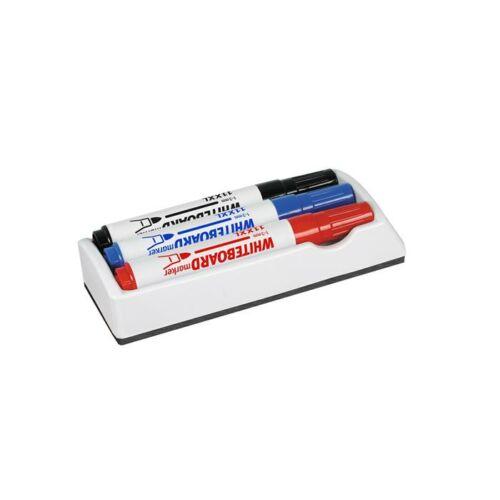 Táblatörlő, filc borítás, 3 db táblafilccel, ICO (TICTT70124)