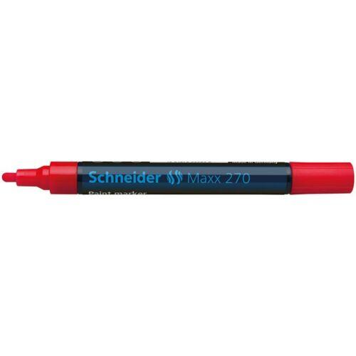 Lakkmarker, 1-3 mm, SCHNEIDER Maxx 270, piros (TSC270P)