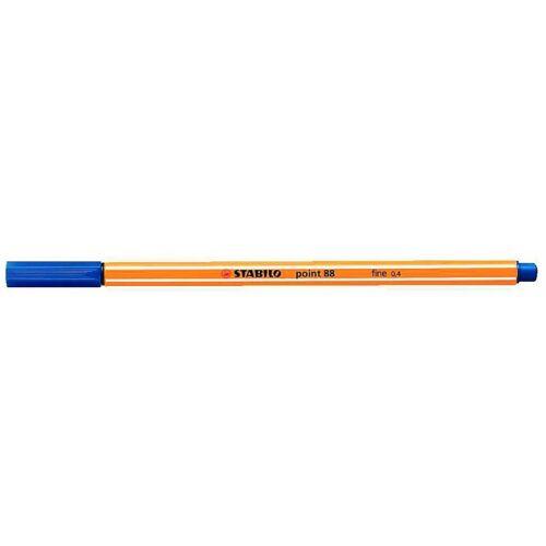 Tűfilc, 0,4 mm, STABILO Point 88, kék (TST88411)