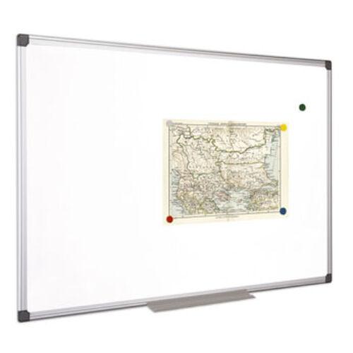 Fehértábla, mágneses, 100x100 cm, alumínium keret, VICTORIA (VVIM05)