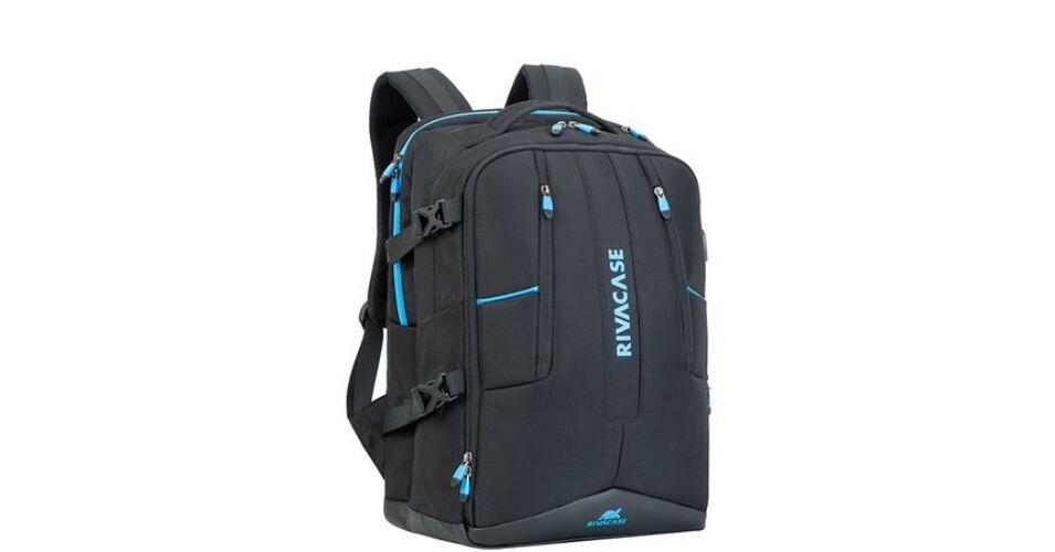 45f82bd01237 Notebook hátizsák, gaming eszközökhöz, 17,3, RIVACASE Borneo 7860, fekete  (NTRB7860B) - Notebook, netbook hátizsákok 16-tól